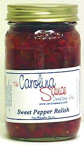 Carolina Sauce Sweet Pepper Relish